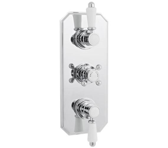 Nuie Premier Victorian Thermostatic Triple Concealed Shower Valve
