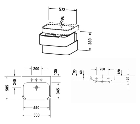 Technical drawing QS-V81906 / H2636302222