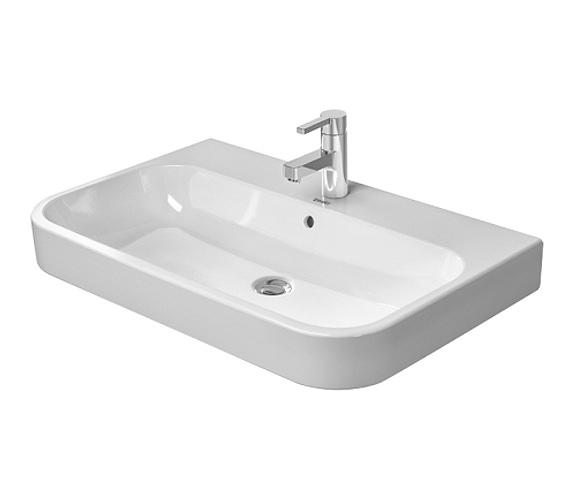 Duravit happy d2 600 x 505mm furniture washbasin 2318600000 - Duravit bathroom furniture uk ...