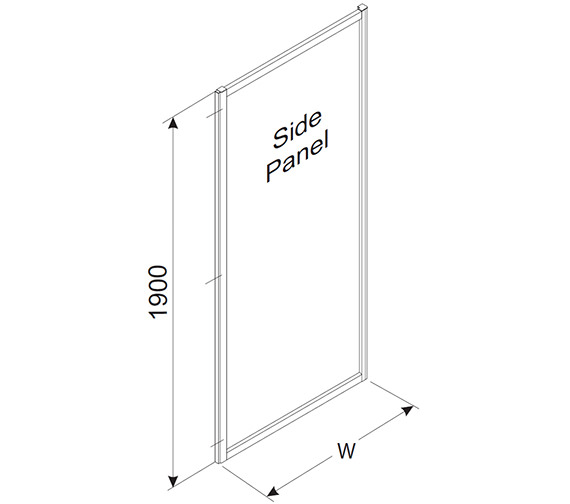 Technical drawing QS-V84310 / T45400CP