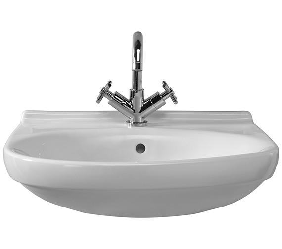 Twyford Grace 2 Tap Hole 575 x 500mm Basin - EX-DISPLAY