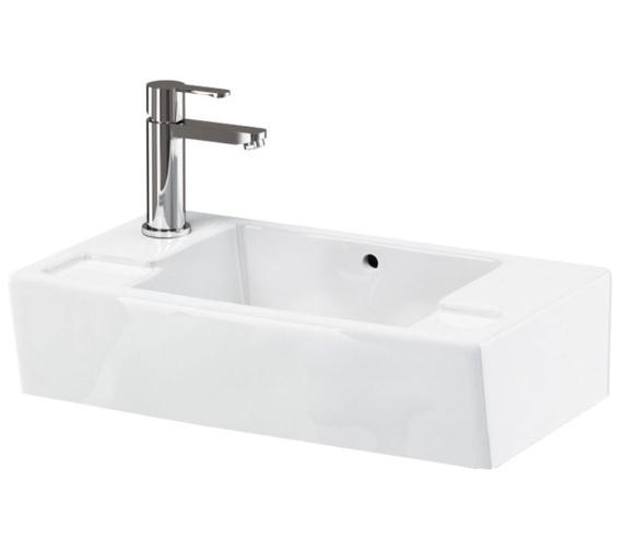 Britton 550mm Cloakroom Basin - Ex Display
