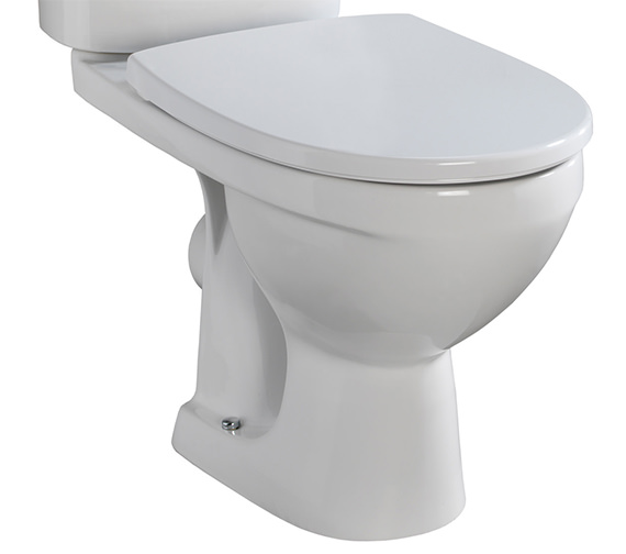 Twyford Refresh Close Coupled WC Pan Only 645mm - EX-DISPLAY
