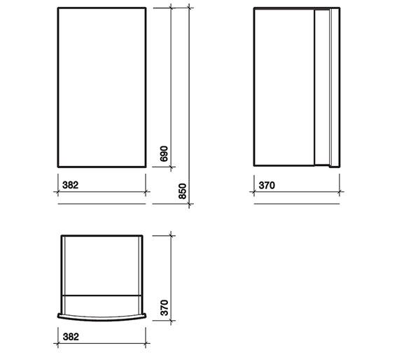 Technical drawing QS-V84314 / 88214