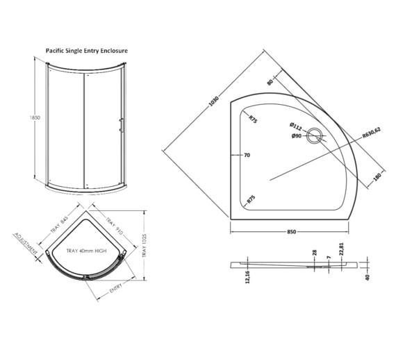 Technical drawing QS-V61468 / BEO-2038