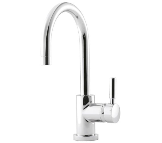 Beo Twirl Single Lever Side Action Mono Basin Mixer Tap With Swivel Spout