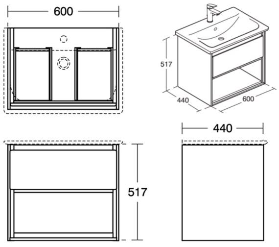 Technical drawing QS-V8424 / E0826B2