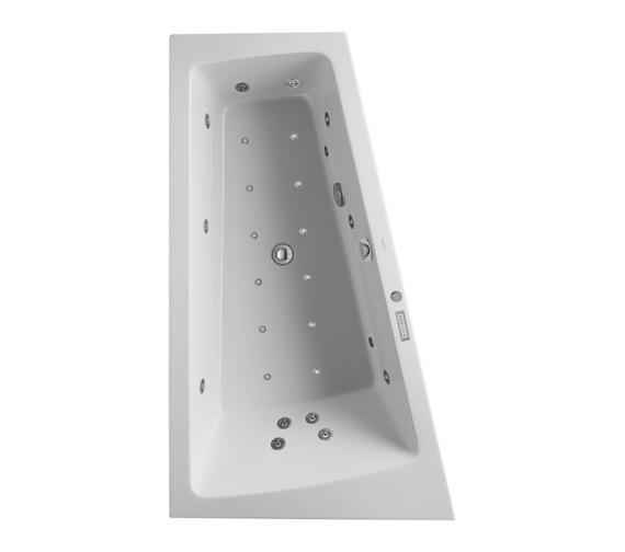 duravit paiova 1700x1000mm built in left slope bath. Black Bedroom Furniture Sets. Home Design Ideas