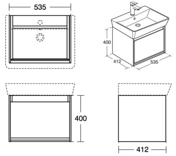 Technical drawing QS-V8428 / E0846KN