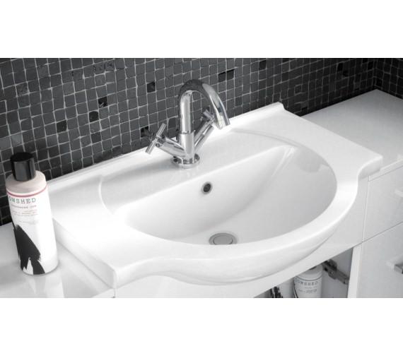 Nuie Premier Mayford 450 x 300mm Single Door Vanity Unit And Basin