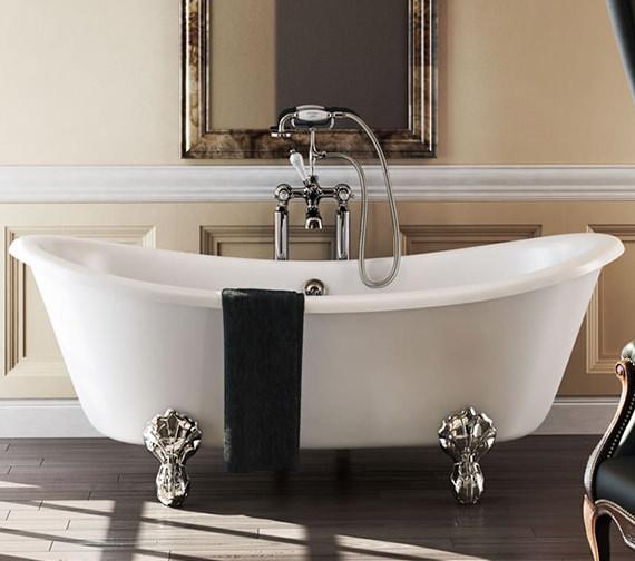 Burlington Bateau Freestanding Double Ended Bath 1640 x 700mm
