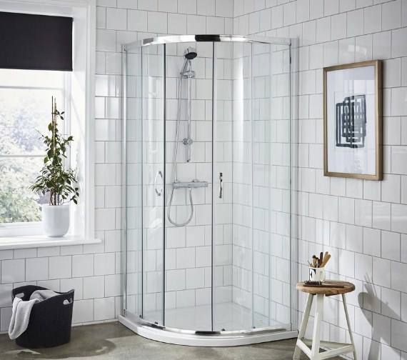 Aqva Beetel Quadrant Shower Enclosure 900 x 900mm