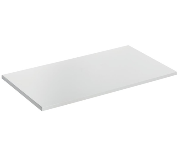 Ideal Standard Concept Air 804 x 442mm Gloss White Worktop For Vessel Basin