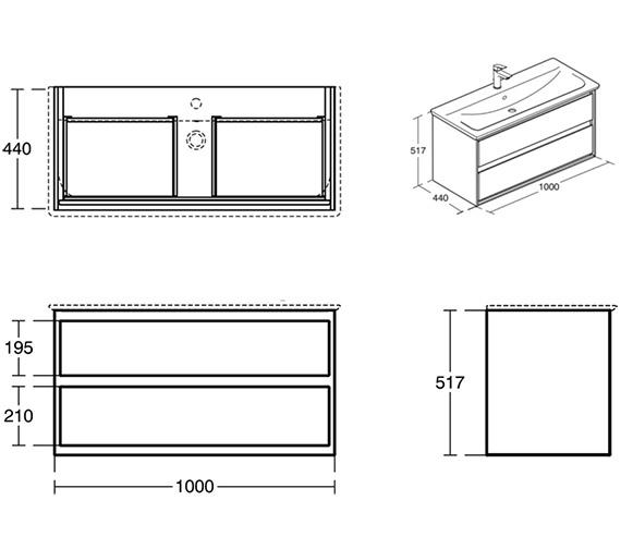 Technical drawing QS-V8422 / E0821KN