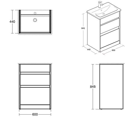 Technical drawing QS-V8437 / E0836PS