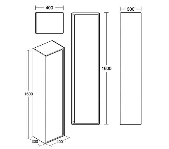 Technical drawing QS-V8429 / E0832EQ