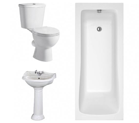 Aqva Concord Smart Bathroom Suite