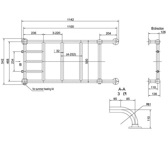 Technical drawing QS-V13471 / R12 CHR