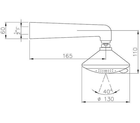 Technical drawing QS-V39432 / AB2405