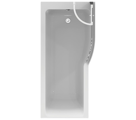 Ideal Standard Concept Air 1700 X 800mm Right Hand Idealform Plus Shower Bath E114501