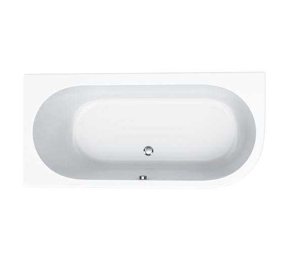 Carron Status 5mm Acrylic Right Hand Corner Bath 1600 x 725mm