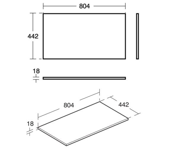 Technical drawing QS-V8432 / E0849B2