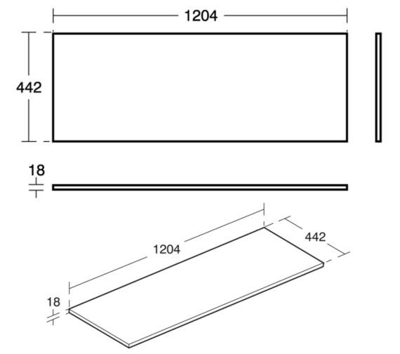 Technical drawing QS-V8434 / E0852B2