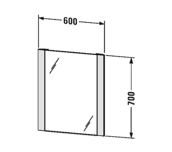 Technical drawing QS-V81945 / LM7885D0000