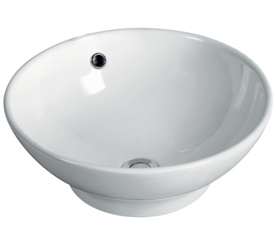 Pura Cresto 410mm Round Vessel Basin