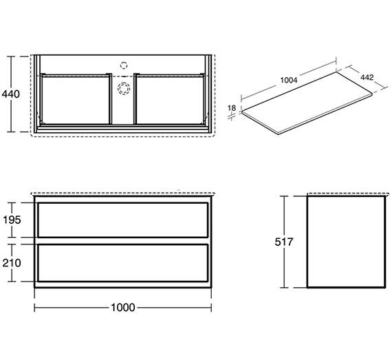 Technical drawing QS-V8445 / E0821B2