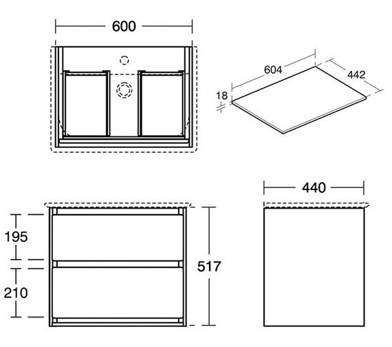 Technical drawing QS-V8444 / E0818B2