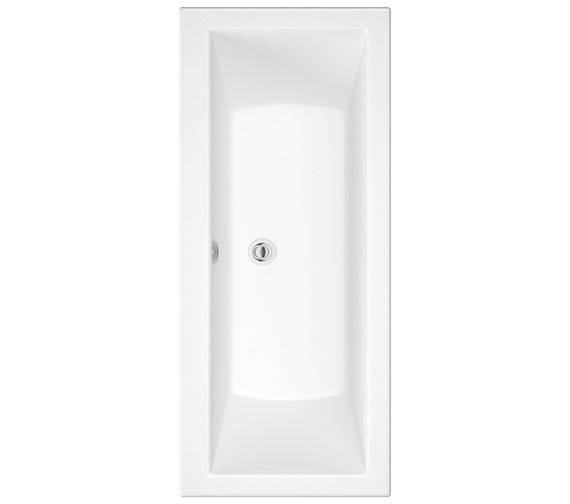 Pura SQR 1700 x 750mm Double Ended Bath