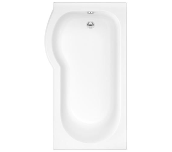 Pura Curve 1500 x 850mm Left Hand Shower Bath
