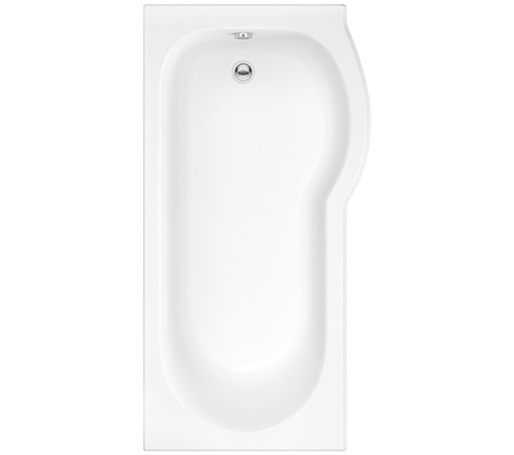 Pura Curve 1675 x 850mm Right Hand Shower Bath