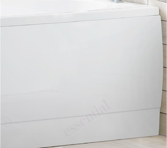 Alternate image of Essential Camden 1500 x 700mm Rectangular Single Ended Bath