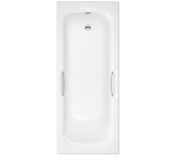 IMEX Ivo 1700 x 700mm Single Ended Bath With Grips And Anti-Slip