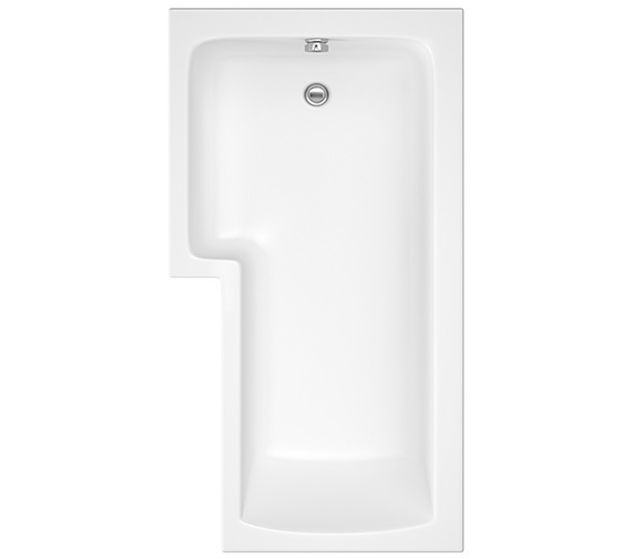 Pura SQR 1500 x 850mm Left Hand Shower Bath