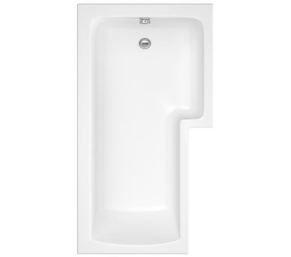 Pura SQR 1500 x 850mm Right Hand Shower Bath