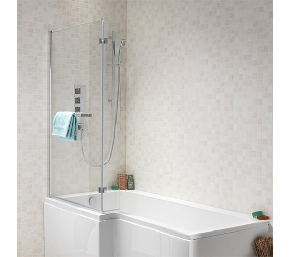 Additional image of IMEX SQR 1700 x 850mm Shower Bath