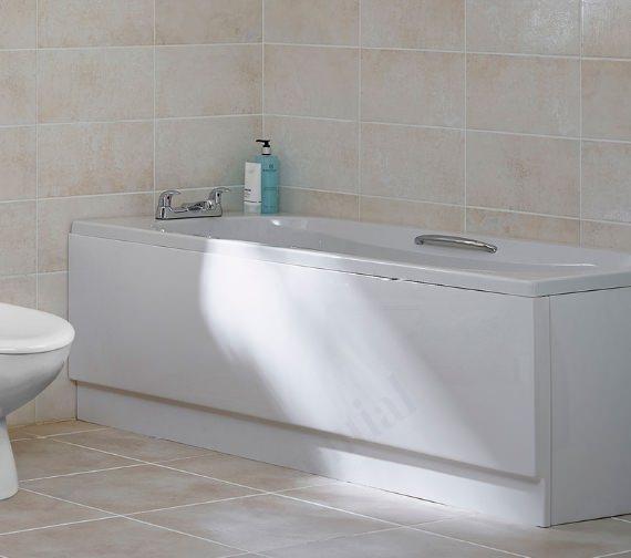Essential Ocean 1700 x 700mm Rectangular Single Ended Bath