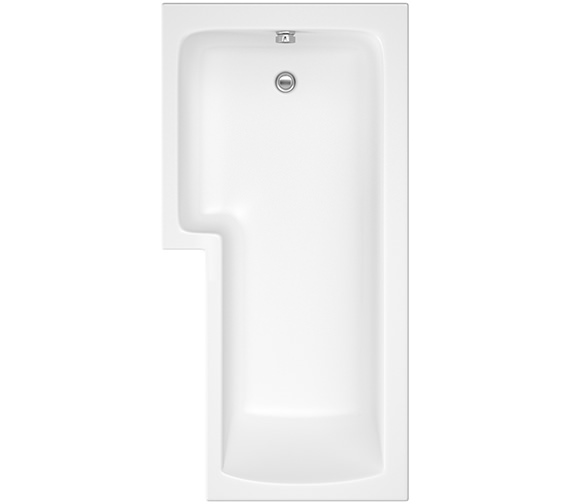 Pura SQR 1700 x 850mm Left Hand Shower Bath