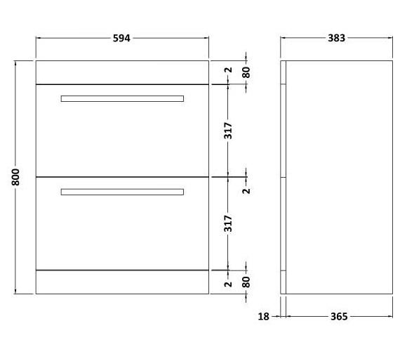 Technical drawing QS-V41889 / BEO-2050