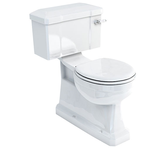 Burlington Extended Depth S Trap Close-Coupled WC With Lever Cistern