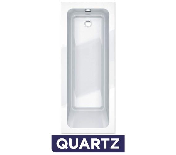 Essential Bromley Quartz Rectangular Single Ended Bath 1700 x 700mm