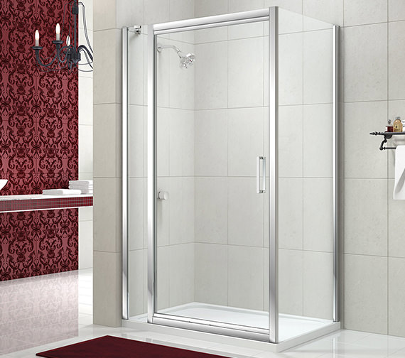 Alternate image of Merlyn 8 Series 900mm Infold Shower Door - M84421
