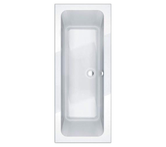 Essential Islington 1800 x 800mm Rectangular Double Ended Bath