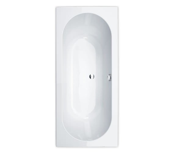 Essential Richmond 1800 x 800mm Rectangular Double Ended Bath