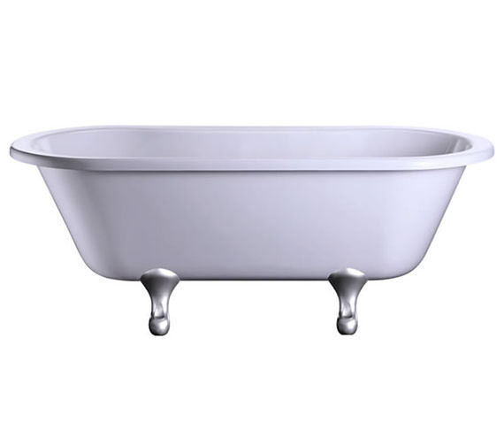 Burlington Windsor 1700 x 750mm Freestanding Double Ended Bath