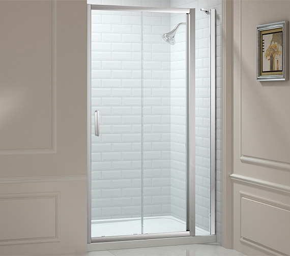 Merlyn 8 Series 1000mm Sliding Door And 210mm Inline Panel