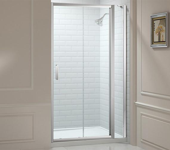 Merlyn 8 Series 1400mm Sliding Door And 210mm Inline Panel